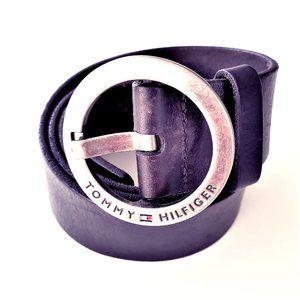 Vintage TOMMY HILFIGER Genuine Leather Belt